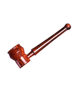Wood Two Piece Pipe
