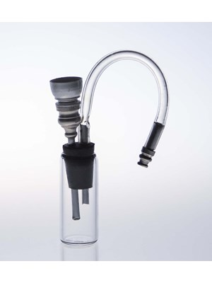 Clear Glass Tube Waterpipe