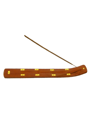Wooden Incense Boat Plain