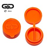 Grace Glass Silicone Dabs 40mm