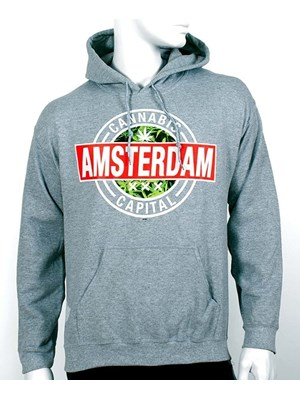Sweat À Capuche Cannabis