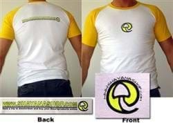 Shayanashop Yellow/White T-Shirt